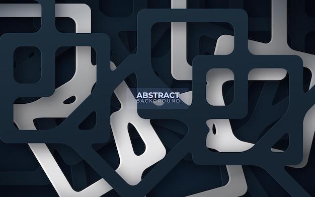 Fondo abstracto con formas geométricas