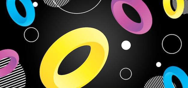 Fondo abstracto con formas geométricas.
