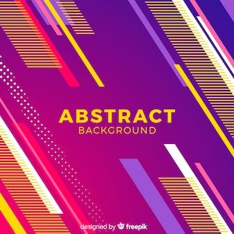 Fondo abstracto con formas gradientes