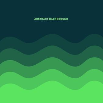 Fondo abstracto con formas lineales coloridas