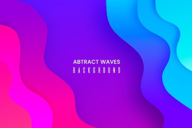 Fondo abstracto con formas líquidas