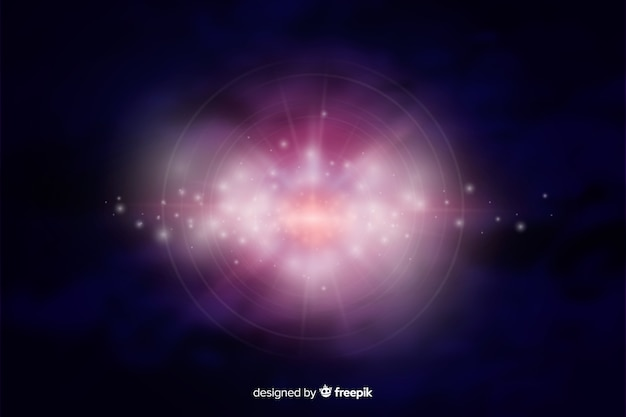 Fondo abstracto de galaxia brillante