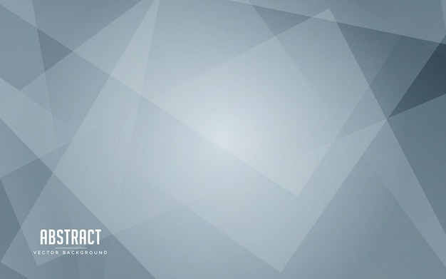 Fondo abstracto geométrico color blanco y gris