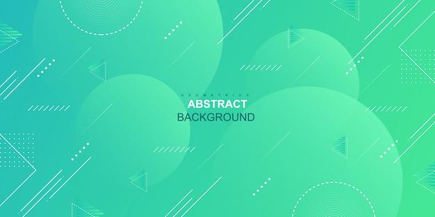 Fondo abstracto geométrico degradado