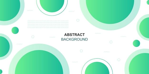 Fondo abstracto geométrico formas verdes