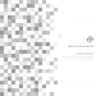 Fondo abstracto geométrico gris y blanco