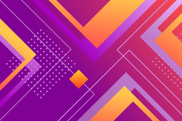 Fondo abstracto gradiente cuadrados
