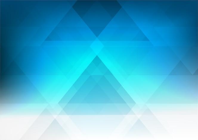 Fondo abstracto gráfico geométrico del gradiente azul del estilo