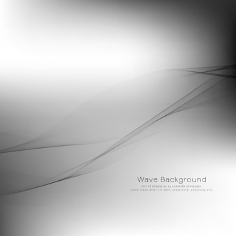 Fondo abstracto gris onda