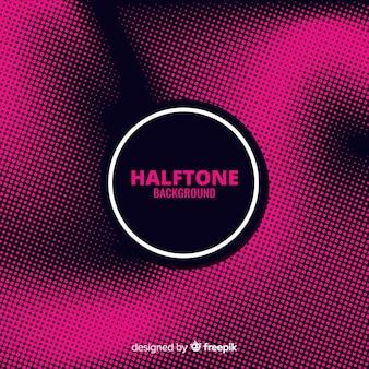 Fondo abstracto halftone