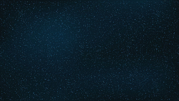 Fondo abstracto. el hermoso cielo estrellado es azul.