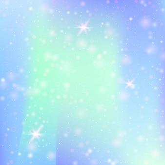 Fondo abstracto holográfico. telón de fondo holográfico de plástico con malla de degradado. estilo retro de los 90, 80. plantilla gráfica iridiscente para folleto, volante, diseño de carteles, papel tapiz, pantalla móvil.