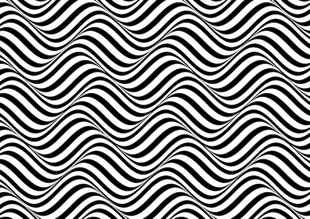 Fondo abstracto ilusión óptica