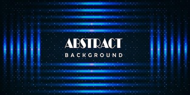 Fondo abstracto ligero azul de la tecnología.