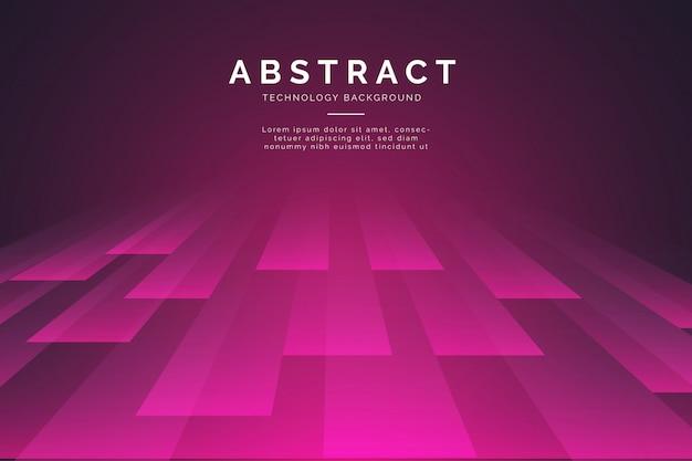 Fondo abstracto con líneas 3d