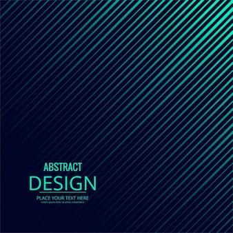 Fondo abstracto con líneas azules