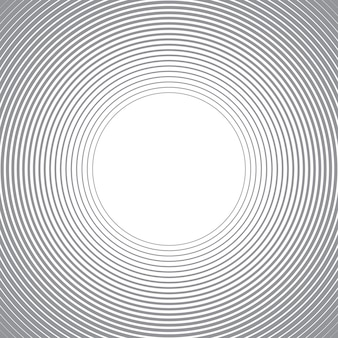 Fondo abstracto con líneas de círculos.