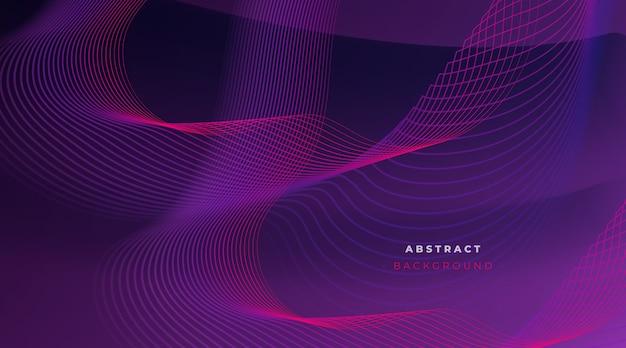 Fondo abstracto con líneas dinámicas