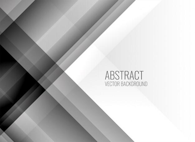 Fondo abstracto de líneas grises limpias