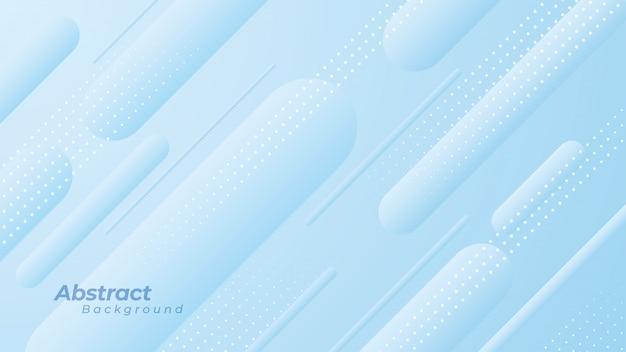 Fondo abstracto con líneas redondas y puntos diagonales.