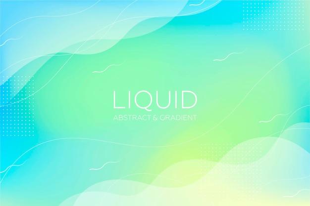 Fondo abstracto líquido degradado