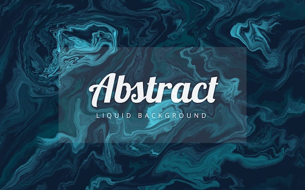 Fondo abstracto líquido mármol azul