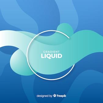 Fondo abstracto líquido