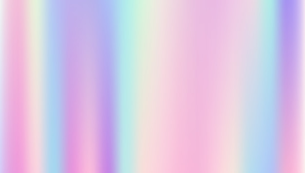 Fondo abstracto liso y holográfico.