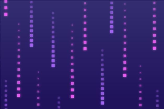 Fondo abstracto lluvia de píxeles