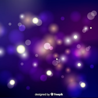 Fondo abstracto de luces borrosas