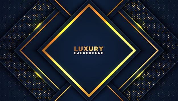 Fondo abstracto de lujo con brillos dorados
