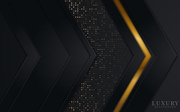Fondo abstracto de lujo de metal dorado. elemento de diseño gráfico para invitación, portada, fondo. decoración elegante