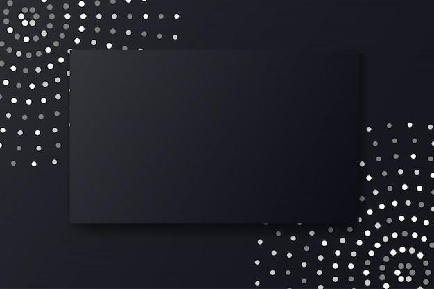 Fondo abstracto de lujo negro moderno