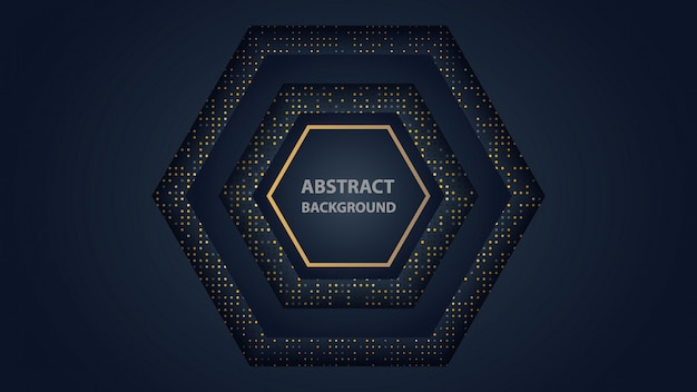Fondo abstracto de lujo