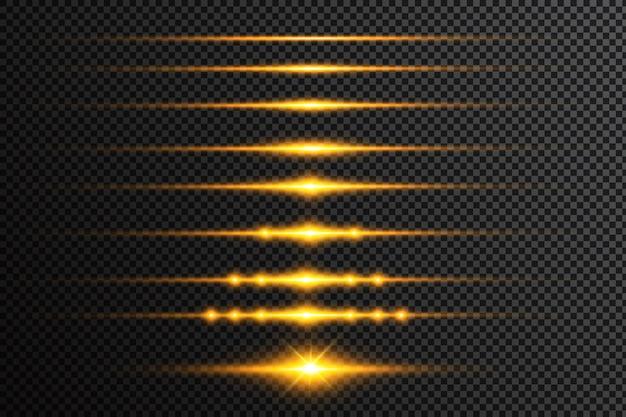 Fondo abstracto. luz hermosa. chispas mágicas. rayas de brillo místico. lugar vacío. destello de rayos cósmicos. líneas de viento de neón. efecto de brillo. energía electrica.