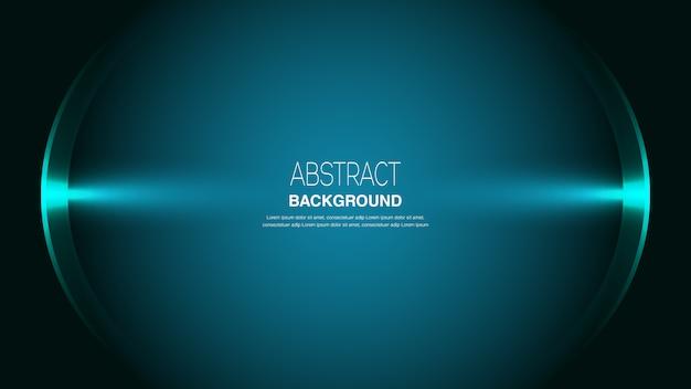 Fondo abstracto con luz redonda