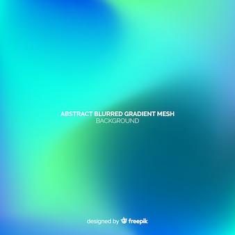 Fondo abstracto de malla borrosa gradient