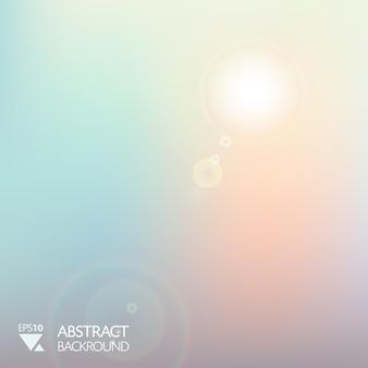 Fondo abstracto de la mañana de luz suave suave