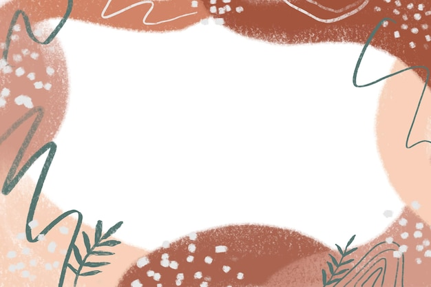 Fondo abstracto minimalista dibujado a mano acuarela con color pastel