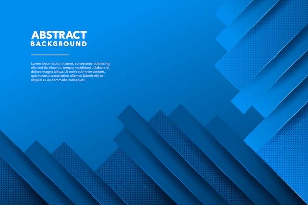 Fondo abstracto moderno azul