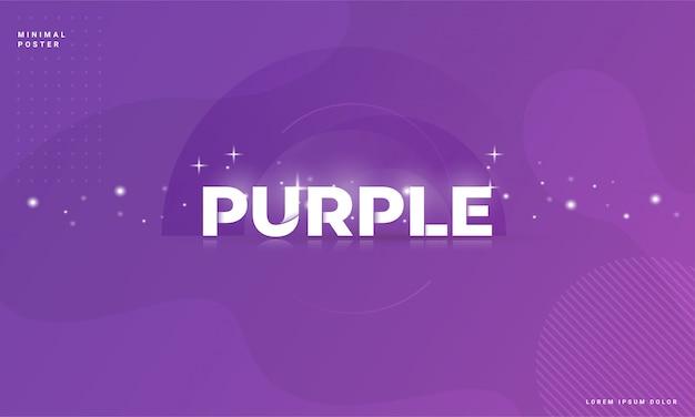 Fondo abstracto moderno con un concepto púrpura