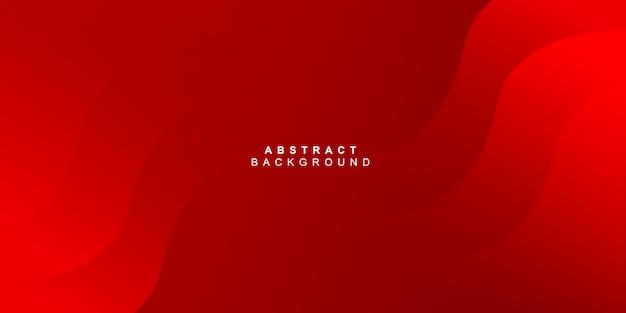 Fondo abstracto moderno curva roja