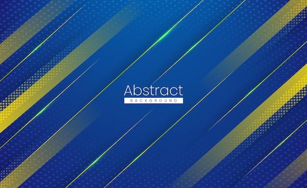 Fondo abstracto moderno de deportes brillantes con efecto de movimiento