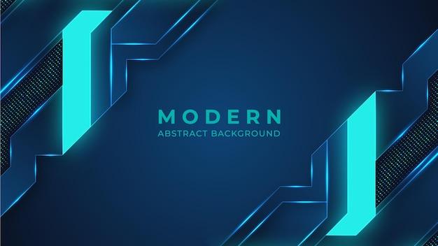 Fondo abstracto moderno de iluminación de neón