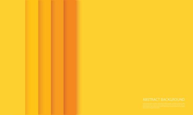 Fondo abstracto moderno líneas amarillas
