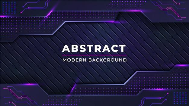 Fondo abstracto moderno con líneas de puntos de color rosa brillante combinación