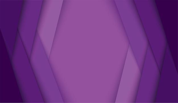 Fondo abstracto moderno líneas púrpuras