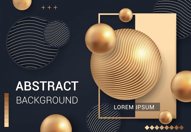 Fondo abstracto moderno negro para el negocio