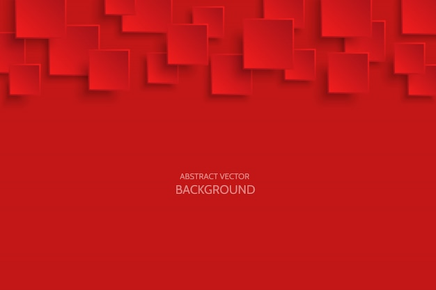 Fondo abstracto moderno rojo oscuro