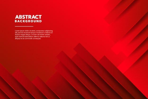Fondo abstracto moderno rojo